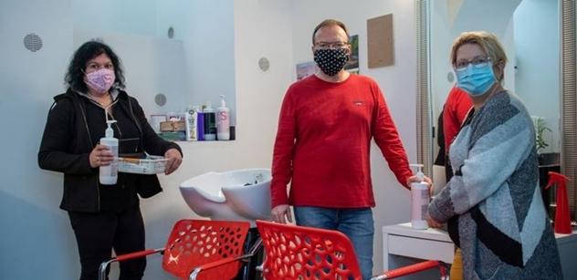 Praha 5: Provoz pedikúry, masáží a kadeřnictví pro seniory v DPS Zubatého bude znovu zahájen 11. května