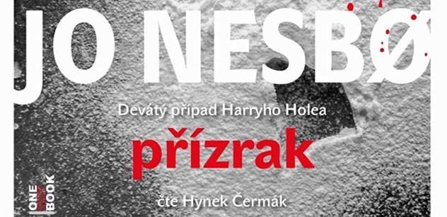 Hynek Čermák opět exceluje  v novém případu Harryho Holea!   Audioknižní novinka PŘÍZRAK 21. října  exkluzivně na Audiolibrix.com!