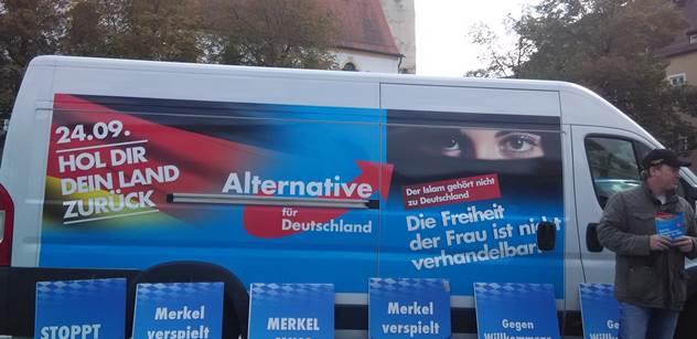 Německo: Zruš to, nebo dostaneš! AfD marně shání sál pro sjezd. A Klaus ml. mluví i o Česku