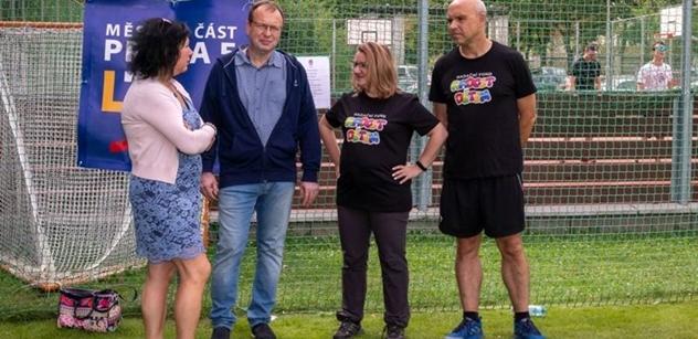 """Praha 5: Charitativní fotbalový turnaj """"Footbal Cup pro Radost dětem"""" na Mrázovce"""