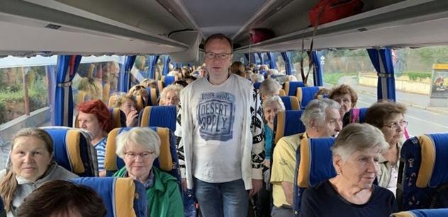 Praha 5: Výlety pro seniory, tentokrát do Kryštofova údolí a Jablonného v Podještědí