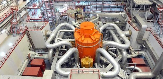 Rosatom zahájil sériovou výrobu paliva MOX pro sodíkový reaktor BN-800