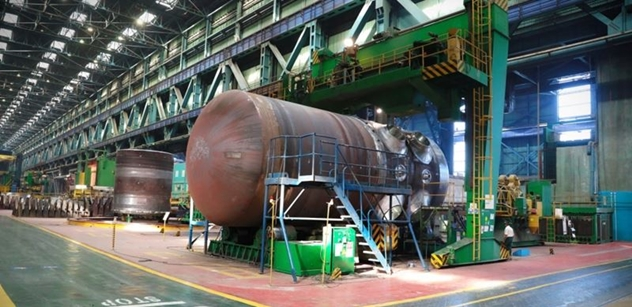 Rosatom: V Atommaši spojili díly reaktorové nádoby VVER-TOI pro JE Kurská II