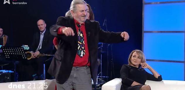 Máte krásné nohy, řekl Ringo Čech Krnáčové. A Jaromír Soukup sám sebe označil za...