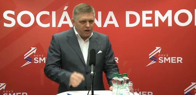 Za říši nebojujte! Bojujte za Slovensko! Fico se chytil s novináři i premiérem, bylo dusno