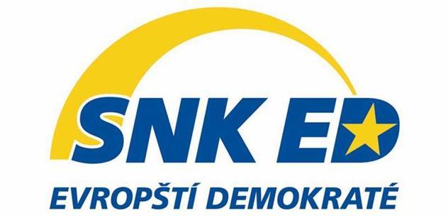 SNK Evropští demokraté potvrdili podporu kandidátkám STAN