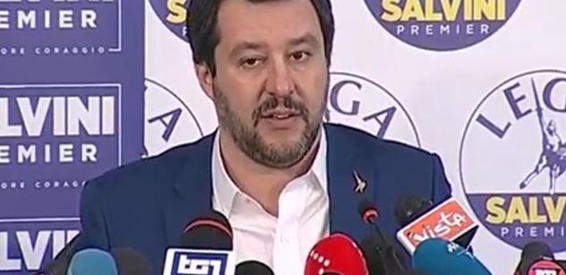 Salvini hřímá: Itálie už není uprchlickým táborem Bruselu, Berlína a Paříže