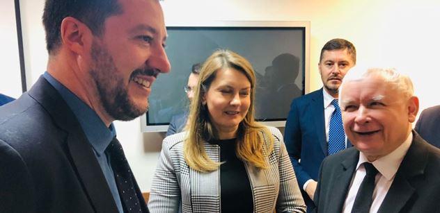 Salvini se dohodl s Poláky. Co vymysleli, nepotěší Macrona s Merkelovou
