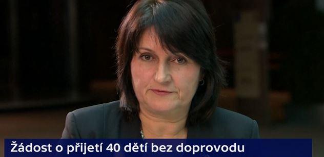 Šojdrová (KDU-ČSL): Jsme jediná země, která odmítla pomoci s dětskými uprchlíky z Řecka