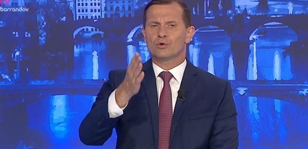 """""""Lepší fór neuslyšíte."""" Soukup se díval na Moravce. Šlo o Babiše. Raději nečtěte"""