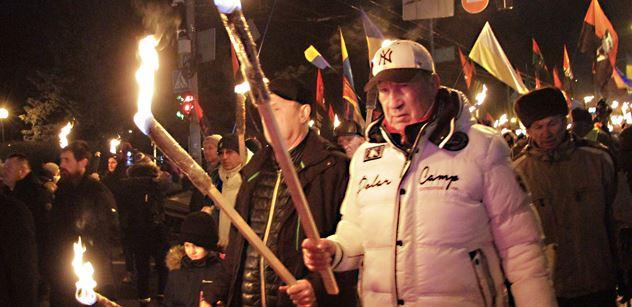 Jaromír Petřík:  Podpoří západní demokracie oslavy Hitlera dle vzoru Bandery na Ukrajině?