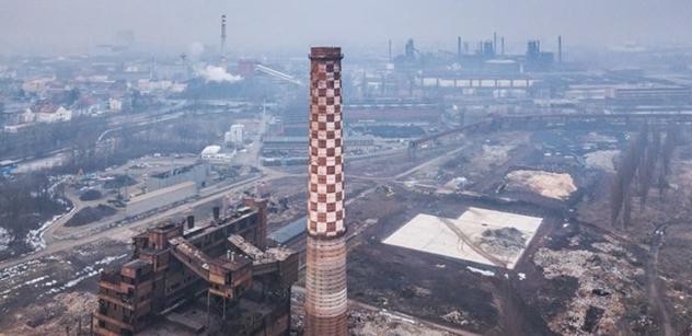 Petice proti odstřelu komínu Strakáč bývalé vítkovické aglomerace