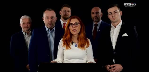 Rodina, Češi, imigranti, euro, poroučení z Bruselu, covid... Známé tváře na konferenci Trikolóry. Padla silná slova