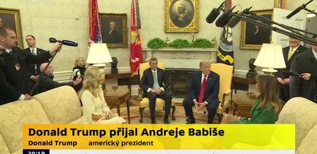 Na Andreje Babiše čekalo v USA překvapení. Neplánované setkání s bratrancem