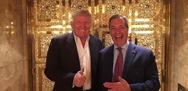 VIDEO Fanatici. Milovníci teroristů. Zbabělci, buďte jako Trump, soptil Nigel Farage v europarlamentu. Bylo z toho divadlo