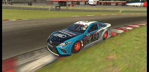 Autodrom Most: Ve virtuálním seriálu NASCAR nechybí ani mostecký autodrom