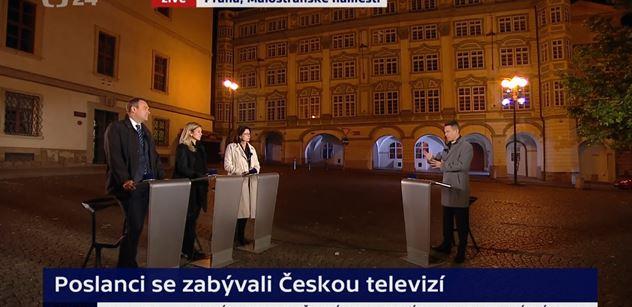 Profesní zločin v Událostech, komentářích. Moderátor nadržoval Němcové, a pak dokonce sám začal diskutovat. Petr Štěpánek volá po trestu