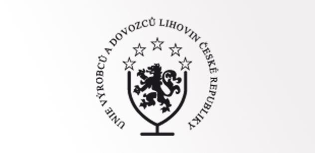 Unie výrobců a dovozců lihovin: Zvýšení sazby rozpočet neposílí, diskriminuje výrobce lihovin a vytváří prostor černému trhu
