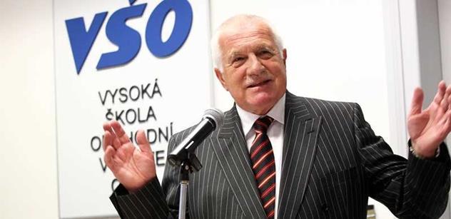 Václav Klaus napsal, o co prý ve skutečnosti šlo národní bance