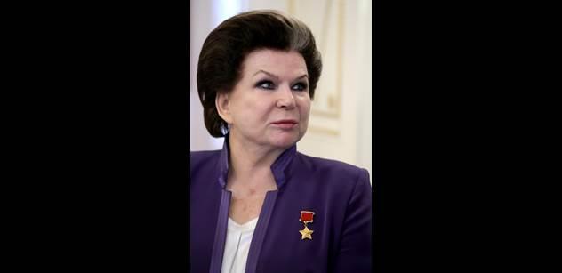 Lidovec: Pryč s kosmonautkou Těreškovovou, přisluhovačkou Putina