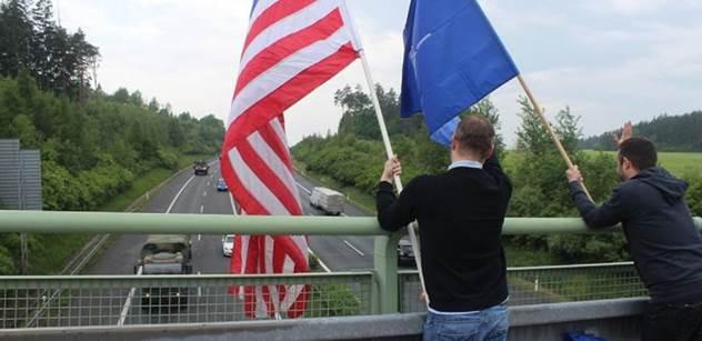 Vojenský konvoj USA má dnes odpoledne opustit Českou republiku