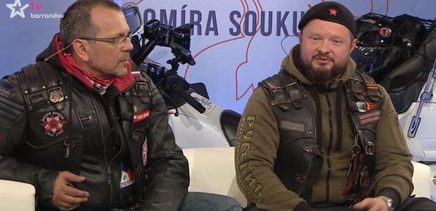 """""""Kde byste byli bez SSSR?"""" Noční vlci vyli u Soukupa, Německu z nich zalehnou uši"""