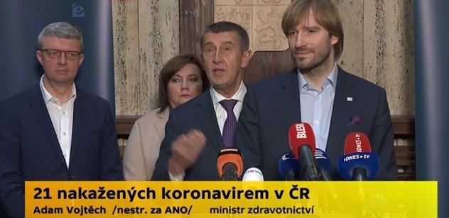 Bomba! Ministr Vojtěch: Česko se může vracet k normálnímu životu