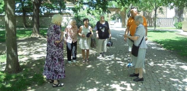 Praha 5: Výlety Prahou s Domem sociálních služeb Na Neklance