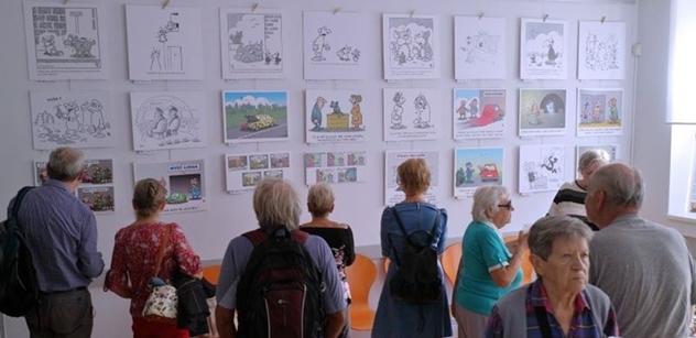 Praha 5: Kresby Pavla Kantorka opět pobaví v Komunitním centru Prádelna