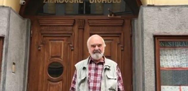 Přišli jste o rozum, vzkazuje vám Zdeněk Svěrák. Známá umělkyně natočila naštvané VIDEO