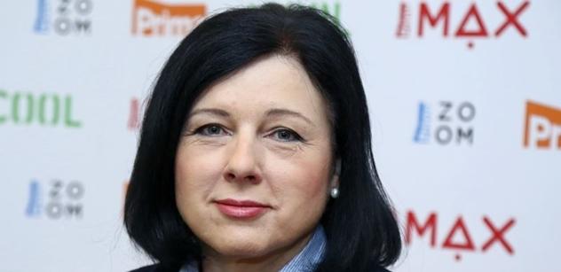 Vláda v pondělí definitivně potvrdí nominaci Jourové do nové Evropské komise