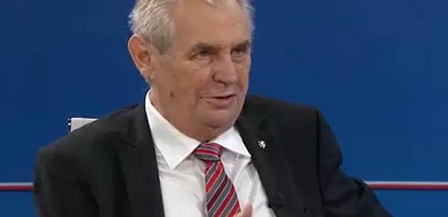 Zemana čeká druhá z televizních předvolebních debat bez Drahoše