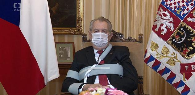 Prezident Zeman gratuloval Bidenovi k vítězství ve volbách a pozval ho do Prahy