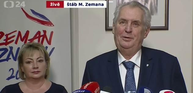 Zdeněk Lanz: Miloš Zeman stmelující aneb všichni na jednoho