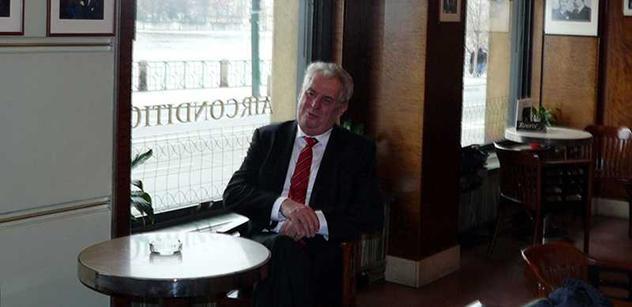 Zeman se urazil na slovenské novináře. Už jim neposkytne rozhovor