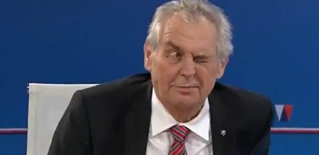 """Co ještě chcete? Vy nekandidujete! Zeman vyřídil Drahoše, s úsměvem utíral Korantenga a kvůli nepříteli hodil """"ksicht"""""""