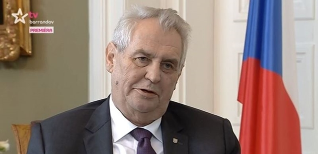 Miloš Zeman před kamerou sekl premiéra: Povolební vládní koalice ANO a ČSSD, ale bez Sobotky!