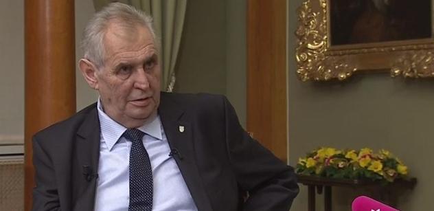 Miloš Zeman: Volby v Rusku byly demokratické, Putin je silný prezident. Rusové mu ze tří čtvrtin věří, to je pro velmoc důležité