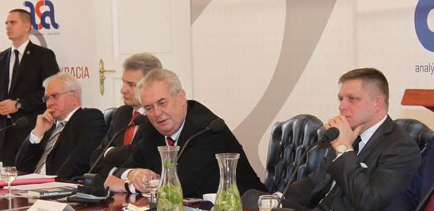 Prezident Zeman: Zdědili jsme karikaturu tržní ekonomiky po pravicových vládách