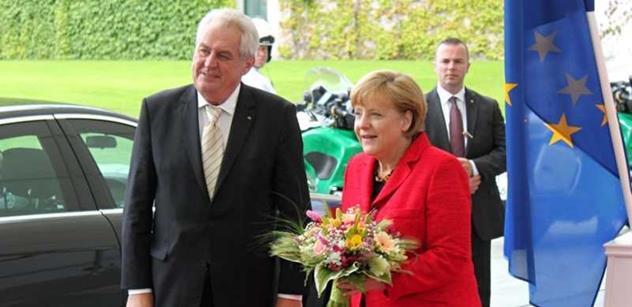 Angele Merkelové přišlo zpoza oceánu vážné varování. Pokud prý bude k Putinovi takto vstřícná, čekají ji velké problémy v EU