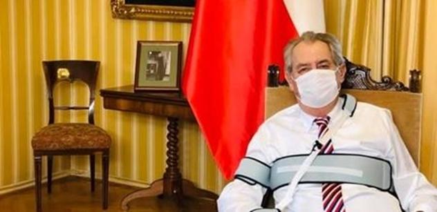 Prezident Zeman: V krizi poznáš přítele