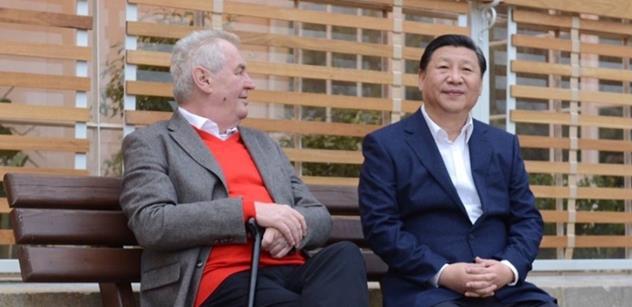 Podle Zemana letos Čína v Česku investuje 95 miliard korun