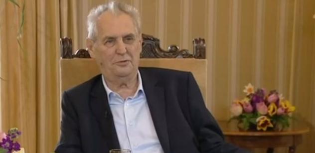 Zeman zahanbil dva a půl milionu lidí, ale je mu to fuk, vypálil Dalibor Balšínek