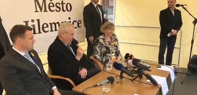 Český PEN klub kritizuje Zemana za jednání vůči Sobotkovi