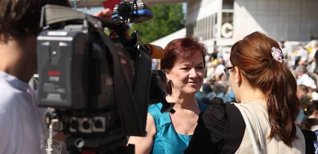 Rudá Semelová má radost: Tolik lidí na 1. máje... Už se za nás nestydí
