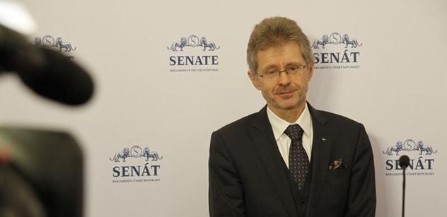 Vystrčil (ODS): Eduard Stehlík reprezentuje skutečné demokratické hodnoty