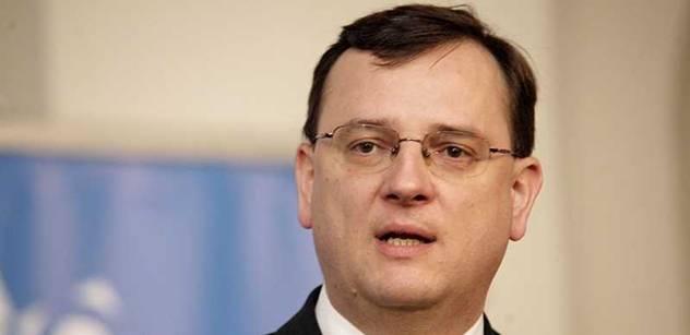 Premiér Nečas: ČSSD očividně žádnou přímou volbu nechce