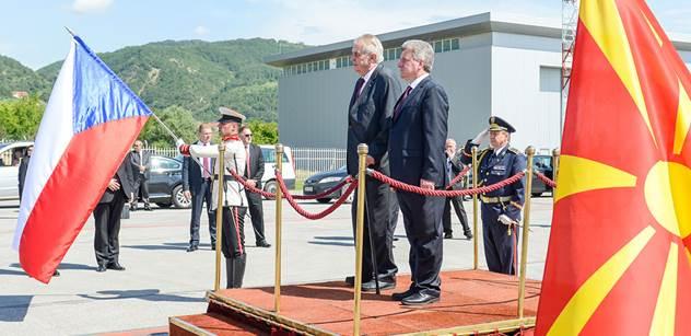 Sorosův premiér, albánská provokace, vypískaný komisař EU. V Makedonii je to trochu jinak, než vám ukazují v televizi
