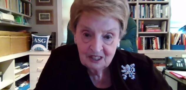 """Bomba Madeleine Albrightové: """"Nezapomenu!"""" Žantovský se chlubí"""
