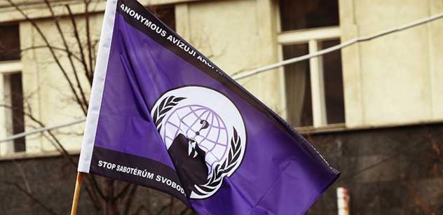 Hackeři z Anonymous chtějí zatřást světem. Možná prý dojde i na korupci